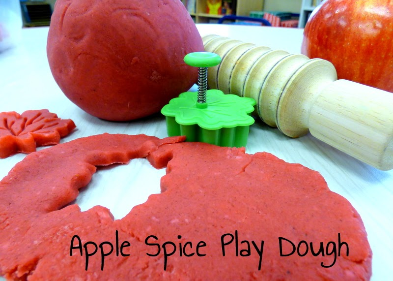 Make Your Own Apple Spice Play Dough