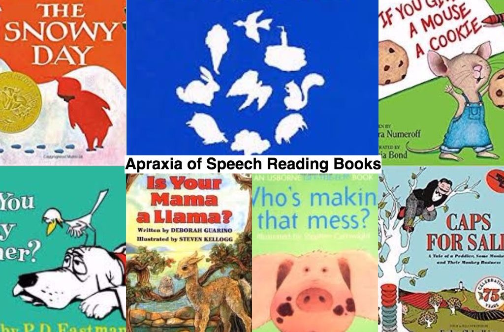 Apraxia of Speech Reading Books