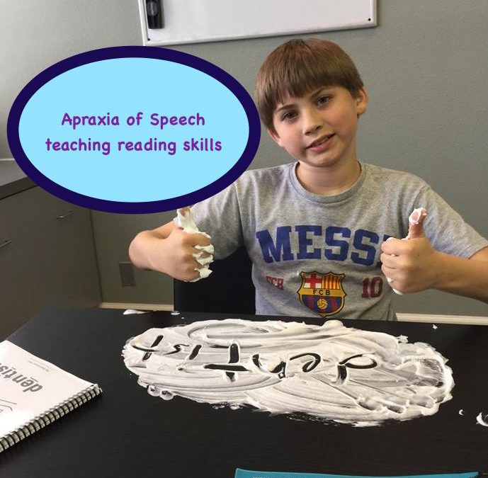 Reading Help for Kids with Apraxia of Speech