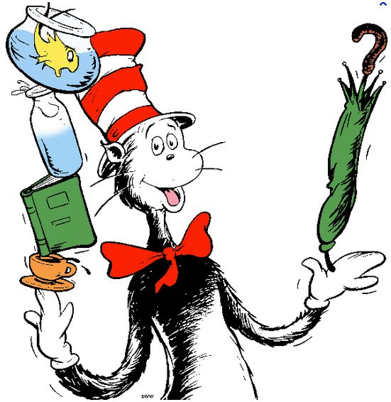 Reading with Dr. Seuss from Easiest to Hardest