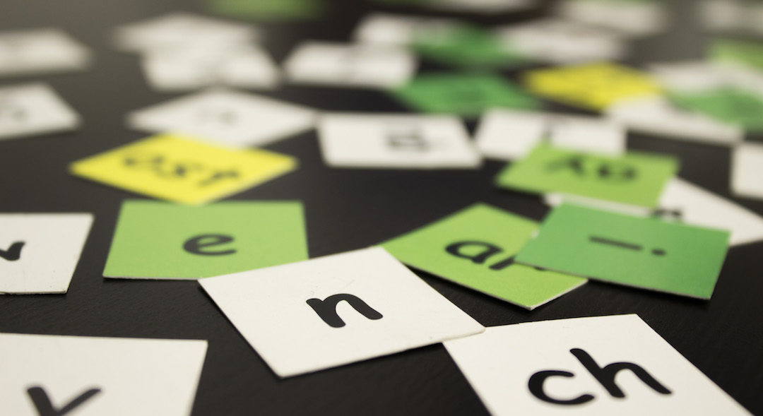 Spelling with Letter Tiles