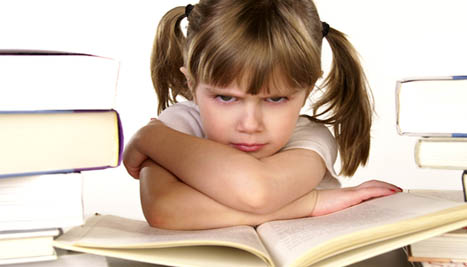 What do you do when your child doesn't want to read?