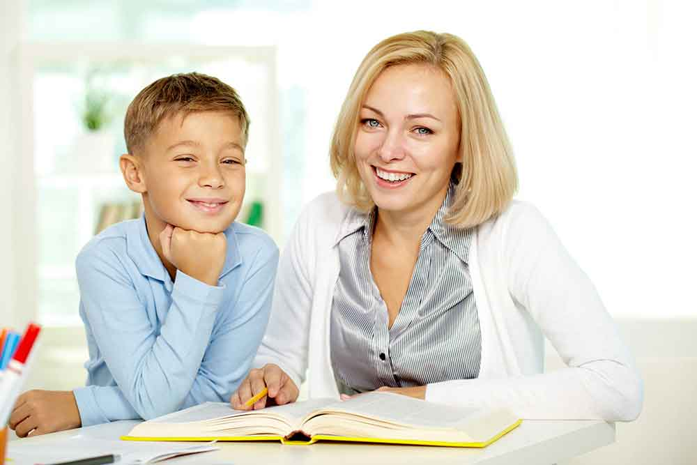 Reading Specialist with Student